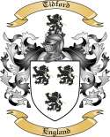 Tidford Family Coat of Arms from England