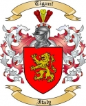 Tigani Family Crest from Italy2