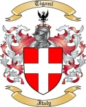 Tigani Family Crest from Italy