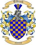 Tilbrook Family Crest from England