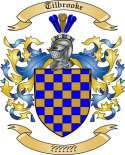 Tilbrooke Family Coat of Arms from England