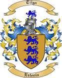 Tilga Family Crest from Estonia
