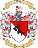 Tilge Family Coat of Arms from Germany