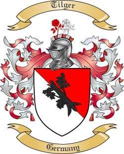 Tilger Family Crest from Germany