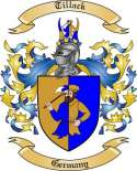 Tillack Family Crest from Germany