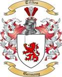 Tillies Family Coat of Arms from Germany