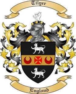 Tilyer Family Crest from England
