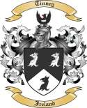 Tinney Family Coat of Arms from Ireland