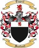 Tippell Family Crest from Scotland