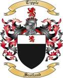 Tipple Family Coat of Arms from Scotland