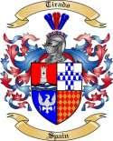 Tirado Family Coat of Arms from Spain