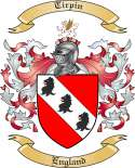 Tirpin Family Coat of Arms from England