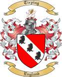 Tirping Family Crest from England