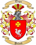 Tlapa Family Crest from Poland