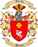 Tlocky Family Crest from Poland