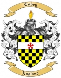 Tobey Family Coat of Arms from England