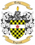 Toby Family Coat of Arms from England