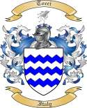 Tocci Family Crest from Italy