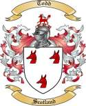 Todd Family Crest from Scotland