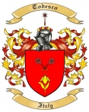 Todesco Family Crest from Italy