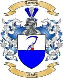 Toeschi Family Crest from Italy2