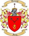 Toeschi Family Coat of Arms from Italy