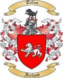 Tolan Family Coat of Arms from Ireland