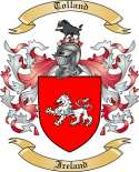 Tolland Family Crest from Ireland