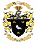 Tolleman Family Coat of Arms from England
