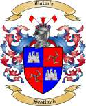 Tolmie Family Coat of Arms from Scotland