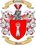 Tolomella Family Crest from Spain
