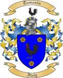 Tomasin Family Crest from Italy