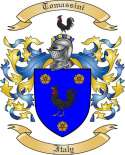 Tomassini Family Crest from Italy