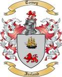 Tomey Family Crest from Ireland