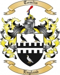 Tomlin Family Crest from England