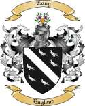 Tong Family Coat of Arms from England