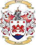 Tonra Family Crest from Ireland