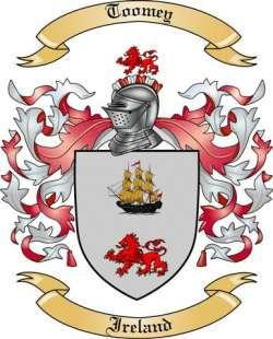 Toomey Family Crest from Ireland