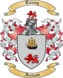 Toomy Family Crest from Ireland