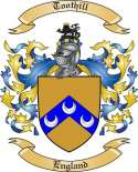 Toothill Family Crest from England2