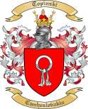 Topinski Family Crest from Czechoslovakia