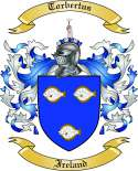 Torbertus Family Crest from Ireland
