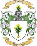 Torbey Family Coat of Arms from Yugoslavia