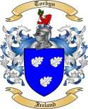 Torbyn Family Crest from Ireland