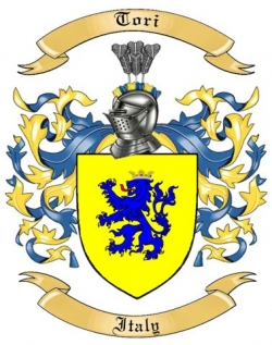 Tori Family Crest from Italy