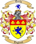 Torly Family Crest from England