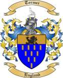 Tormer Family Coat of Arms from England