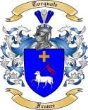 Torquate Family Coat of Arms from France