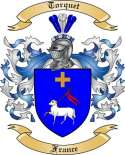 Torquet Family Coat of Arms from France