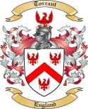 Torrant Family Crest from England